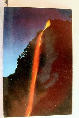 California CA Glacier Point Yosemite National Park Postcard Old Vintage Card PC