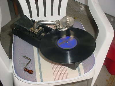 Antique Peter Pan Gamaphone, Works Great