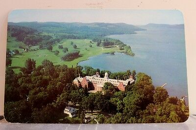 New York NY Cooperstown Otesaga Hotel Postcard Old Vintage Card View Standard PC