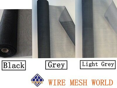 1.5m x 5m Fiberglass Insect Fly wire Fly Window Screen Net Mesh Flyscreen