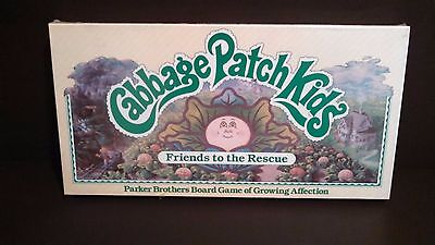 Vintage 1984 Parker Brothers Cabbage Patch Kids Friends to the Rescue Board Game