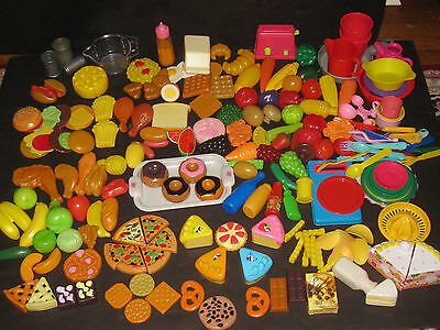 Pretend Play Food Dishes Kitchen Toy Lot