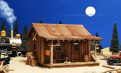 G Scale Building Cabin For Use W Lgb Bachmann Accucraft Rr Track & Locomotives