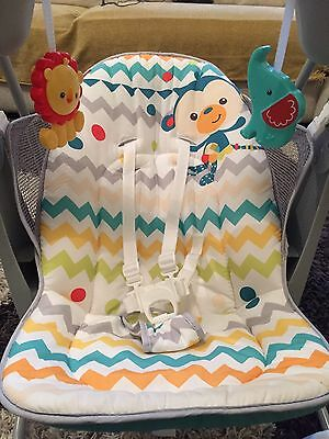 Fisher - Price Colourful Carnival Take-Along Swing And Seat RRP $99