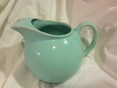 TS&T Taylor Smith & Taylor LuRay Pastels Blue Green Ice Lip Pitcher 241