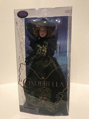 Disney Store Film Collection Doll Lady Tremaine From Cinderella Live-Action Film
