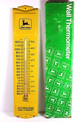 John Deere Wall Thermometer OBM-331 from estate of West Mich. J.D. dealer - MINT