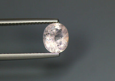 1.20 Cts_Rare Unique Hi-End Collection_100 % Natural Unheated Pink Morganite