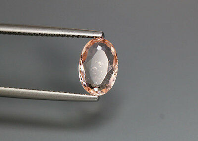 1.51 Cts_Rare Unique Hi-End Collection_100 % Natural Unheated Pink Morganite