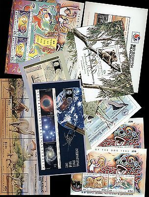 Australia stamps - 11 x Minisheets with STAMP SHOW overprints - MNH