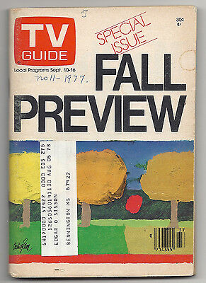 1977 TV GUIDE FALL PREVIEW - Love Boat - SOAP - Lou Grant - CHiPs