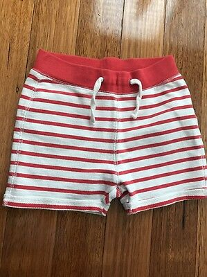 Boys Cotton On Stripe Shorts Size 7 Exc Like New