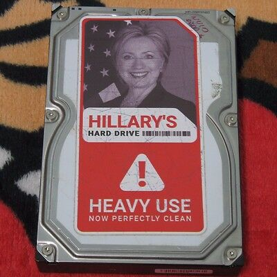 Hillary's Hard Drive - Rand Paul for President 2016 Campaign Promo Item 1 of 80!