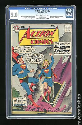 Action Comics (1938 DC) #252 CGC 5.0 1308094002