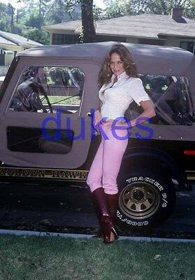 the DUKES OF HAZZARD #854,CATHERINE BACH,candid photo