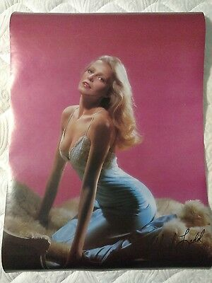 "1978 Cheryl Ladd Lace Pro Arts Vintage Poster 20"" X 28"" Charlie`s Angels NEW!"