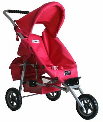 Just Like Mum Mini Marathon Doll Stroller with Toddler Seat - Pink for Children