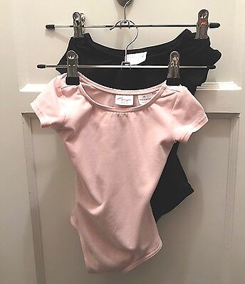 Set of 2 Capezio Leotards Size Toddler - Pink, Black