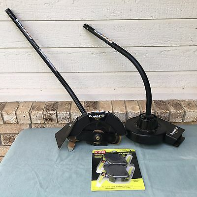 Ryobi Lot Expand It Attachment System Edger Blower Dual Bladed Trimmer Head