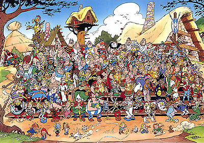 Complete Asterix and Obelix Comic Book Series in PDF Format - Sent Digitally