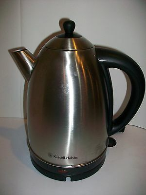Russell Hobbs RH13552 1.7 Litre Brushed Stainless Steel Electric Kettle