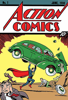 Complete Action Comics Comic Book Set on USB Drive,Over 1000 Digital Issues, CBR