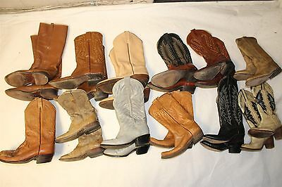 Lot COWBOY Boots Wholesale Resale USED REHAB Justin Ferrini Tony Lama Frye cNpZ