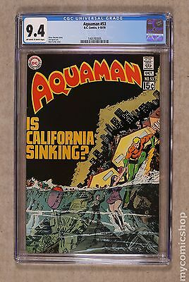 Aquaman (1962 1st Series) #53 CGC 9.4 1465783005