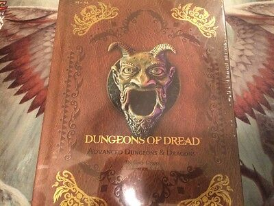 Dungeons of Dread, Dungeons and Dragons, Limited Edition Premium Covered