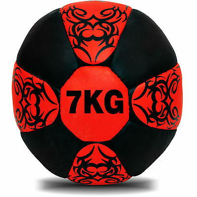 7Kg MEDICINE BALL SLAM BALL NO BOUNCE  CROSSFIT WORKOUT MMA BOXING
