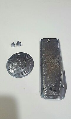 Singer sewing machine 201 faceplate and rear cover
