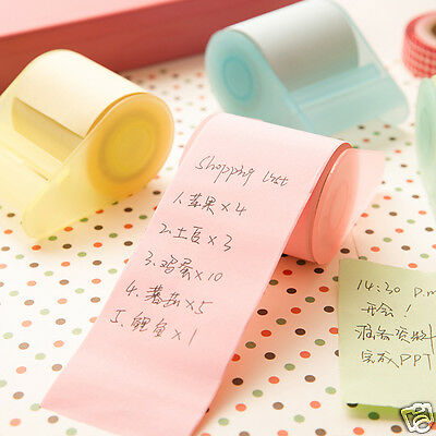 Home School Roll Sticker Post Bookmark Marker Memo Index Tab Sticky Notes Paper