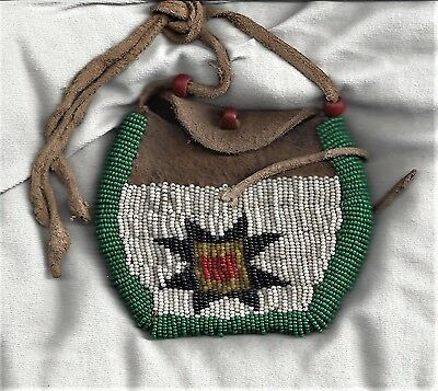 Antique ~ Native American Arapaho Medicine Bag ~From Ranch Estate