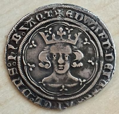 Edward III Treaty Period (1361-9) Hammered Silver Groat, London, S.1616 (FR4)