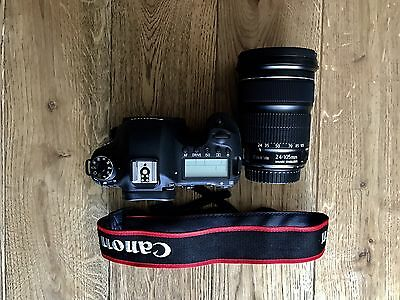 Canon EOS 6D 20.2 MP SLR-Digitalkamera - Schwarz (Kit m/ EF 24-105mm f/4.0L IS …