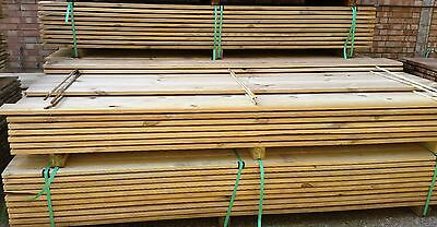 DECKING BOARDS PRESSURE TREATED   28mm x 125mm x 3000mm/10ft long