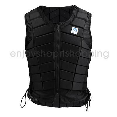 Mens Safety Lightweight Equestrian Vest Horse Riding Body Protector Vest XXL