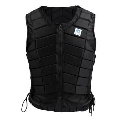 Women Ladies Safety EVA Padded Equestrian Horse Riding Vest Body Protector M