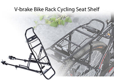 Aluminum Alloy Bicycle Cycle Bike Rear Pannier Rack Carrier Shelf Seat Mount