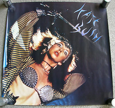 KATE BUSH Mini LP Babooshka LARGE Promo Poster Mint- USA 1982 ORIGINAL!! RARE