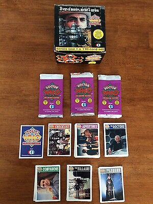 Doctor Who 1994 Cornerstone Trading Cards Full Set with Box