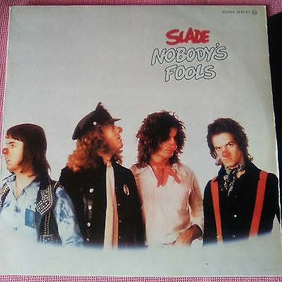 SLADE Nobody's Fools, Vinyl, LP Spanish edition 1976