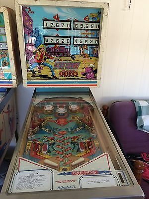 Gottlieb Fast Draw Pinball Machine