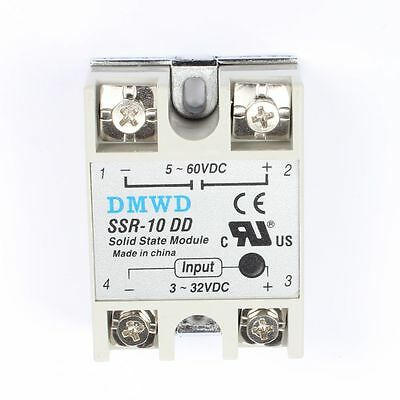 Solid State Module Solid-state Relays SSR-10 DD DC-DC 10A 3-32V DC/5-60V DC