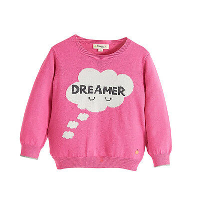 The Bonnie Mob Pullover Dreamer pink Wolle/ Kaschmir