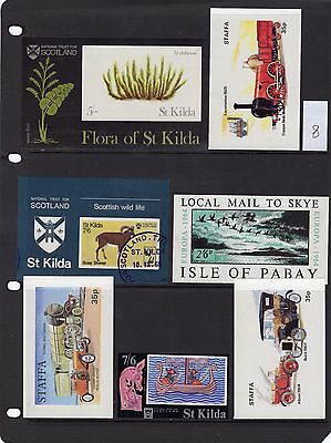 GB Offshore Islands Stamp Selection 8