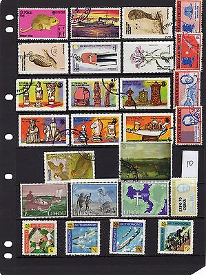 GB Offshore Islands Stamp Selection 10