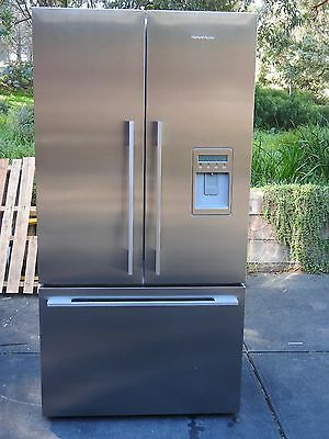 Fisher & Paykel 614Litre Stainless French Door Frost Free Refrigerator.