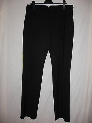 Prada Women's Black Trouser  Pants sz 54