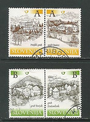 Slovenia  2000  SG.466-469  Castles & Manor Houses  used